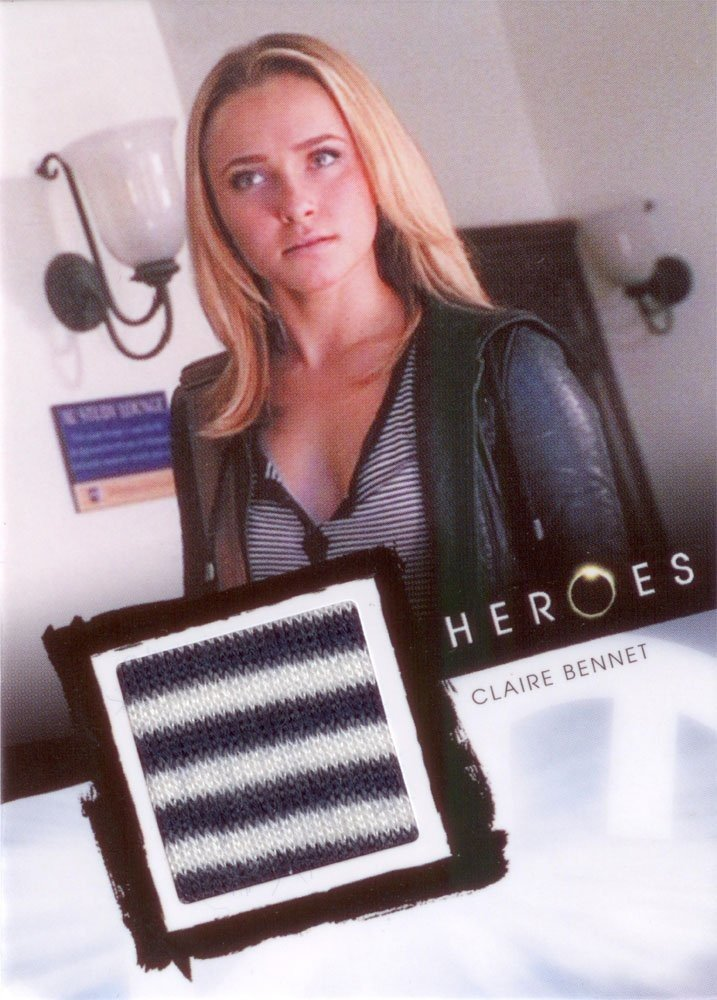 Rittenhouse Archives Heroes Archives Relic Card  Claire Bennet