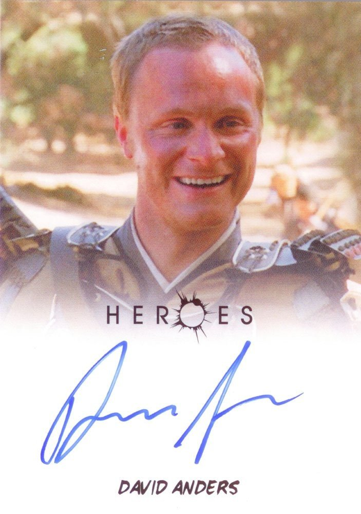 Rittenhouse Archives Heroes Archives Autograph Card  David Anders as Takezo Kensei