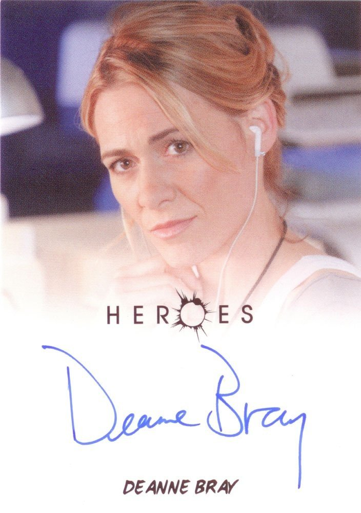 Rittenhouse Archives Heroes Archives Autograph Card  Deanne Bray as Emma Coolidge