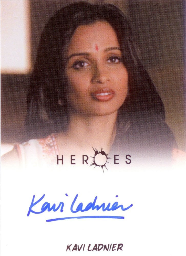 Rittenhouse Archives Heroes Archives Autograph Card  Kavi Ladnier as Mira Shenoy