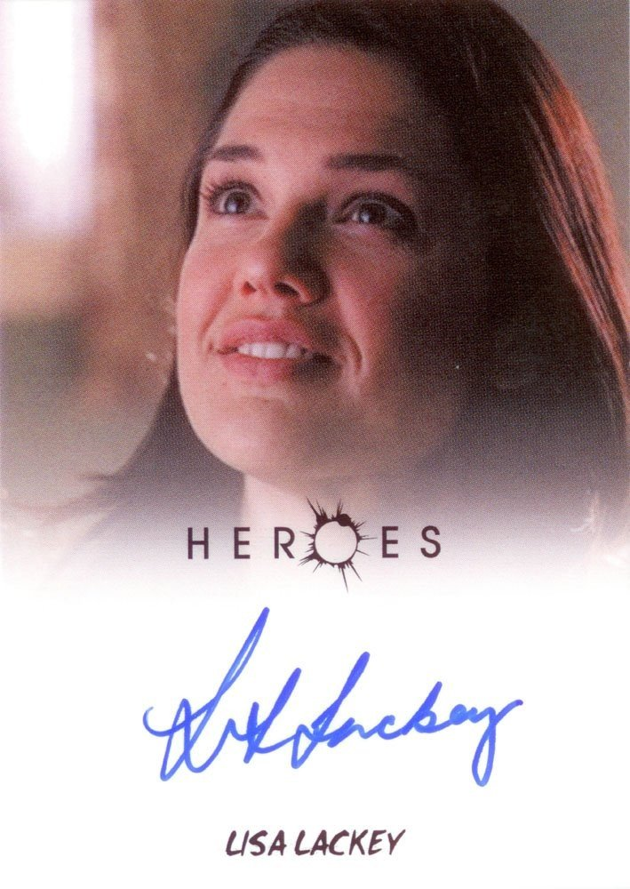 Rittenhouse Archives Heroes Archives Autograph Card  Lisa Lackey as Janice Parkman