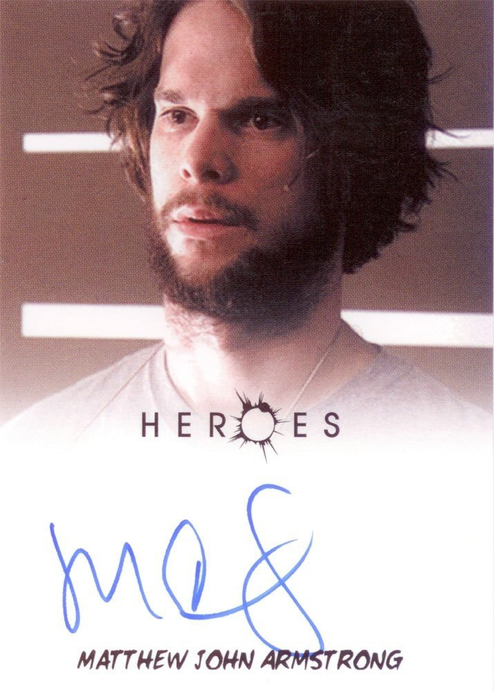 Rittenhouse Archives Heroes Archives Autograph Card  Matthew John Armstrong as Ted Sprague