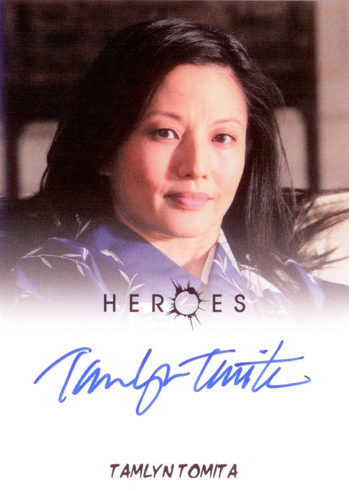 Rittenhouse Archives Heroes Archives Autograph Card  Tamlyn Tomita as Ishi Nakamura