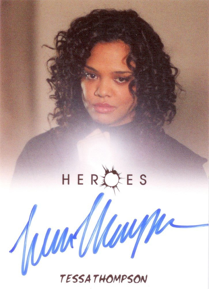 Rittenhouse Archives Heroes Archives Autograph Card  Tessa Thompson as Rebecca Taylor