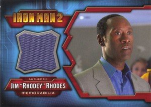 Upper Deck Iron Man 2 Memorabilia Card IMC-7 Jim Rhodey Rhodes