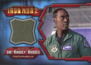 Upper Deck Iron Man 2 Memorabilia Card IMC-10 Jim Rhodey Rhodes