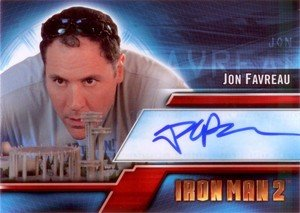 Upper Deck Iron Man 2 Autograph Card A1 Jon Favreau
