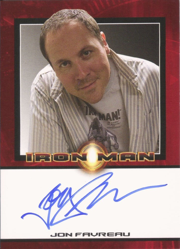 Rittenhouse Archives Iron Man Movie Cards Autograph Card  Jon Favreau - Director