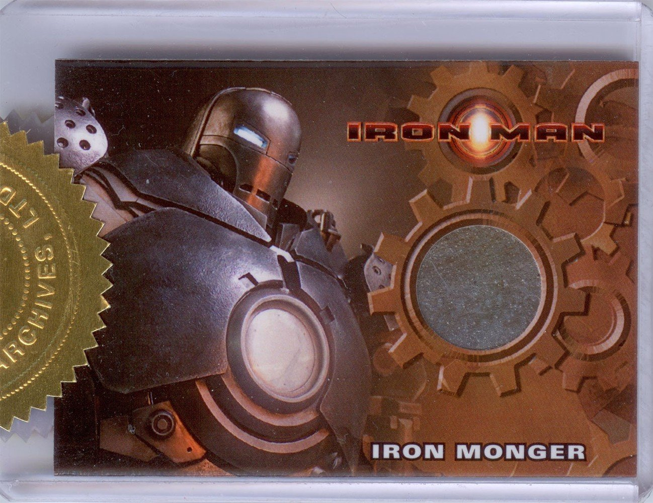Rittenhouse Archives Iron Man Movie Cards Prop Card  Iron Monger