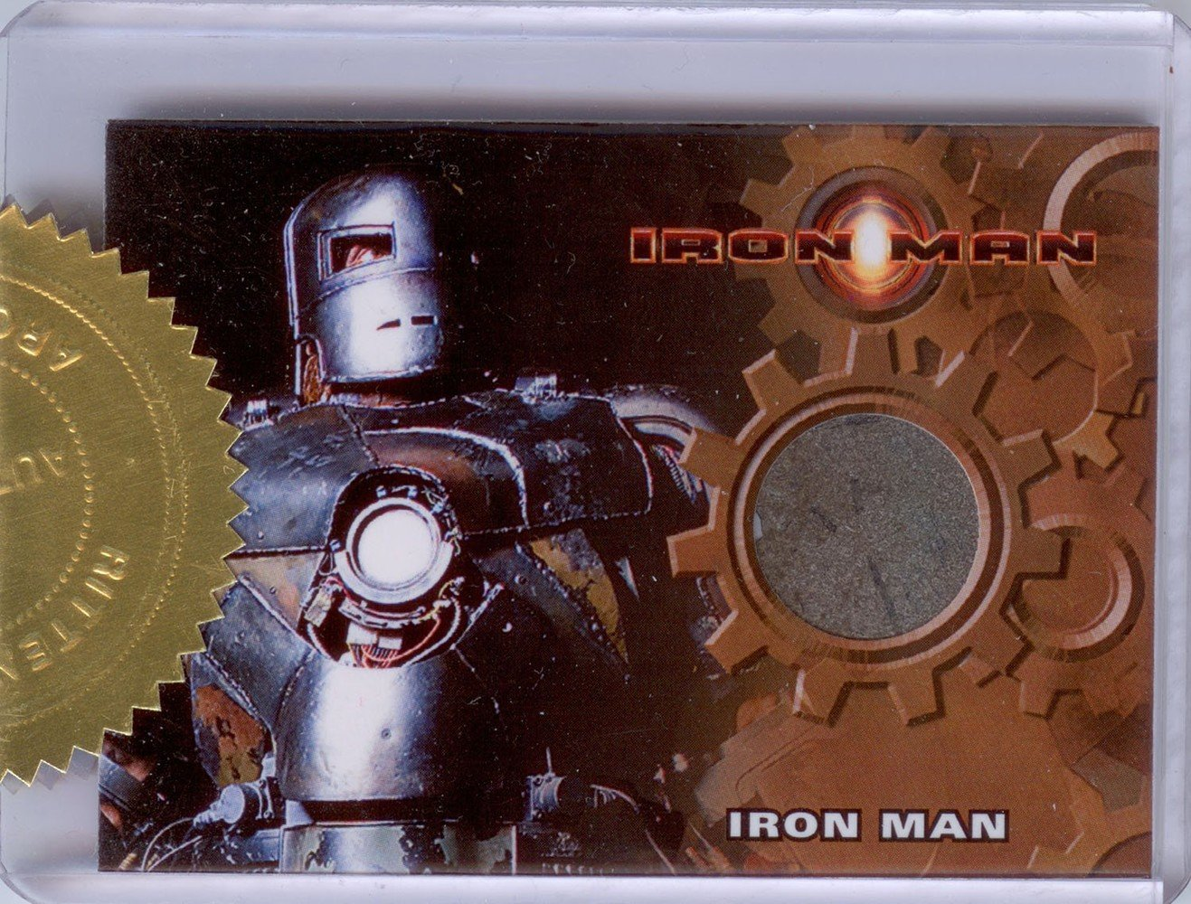 Rittenhouse Archives Iron Man Movie Cards Prop Card  Mark I Armor