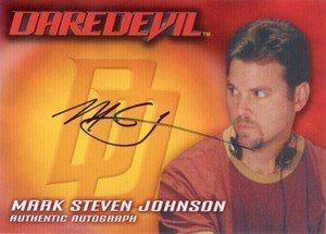 Topps Daredevil Movie Cards Autograph Card  Mark Steven Johnson - Writer/Director