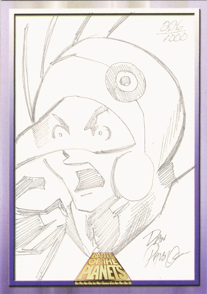 Dynamic Forces Battle of the Planets Sketch Card  Dan Parsons (1000)