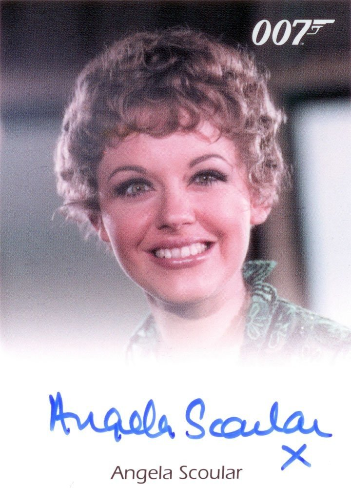 Rittenhouse Archives James Bond: Heroes and Villains Autograph Card  Angela Scoular as Ruby Bartlett in On Her Majesty's Secret Service