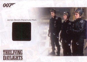 Rittenhouse Archives James Bond: Mission Logs Relic Card JBR16 James Bond's Parachute Pack in The Living Daylights