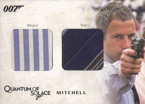 Rittenhouse Archives James Bond Archives Relic Card QC14 Mitchell's Shirt & Tie - Dual Costume (375)